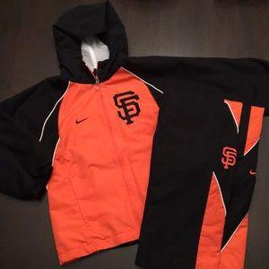 Nike - SF Giants Jogging Suit